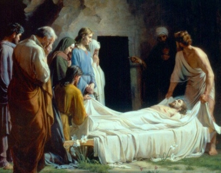 Image result for image of the burial of jesus